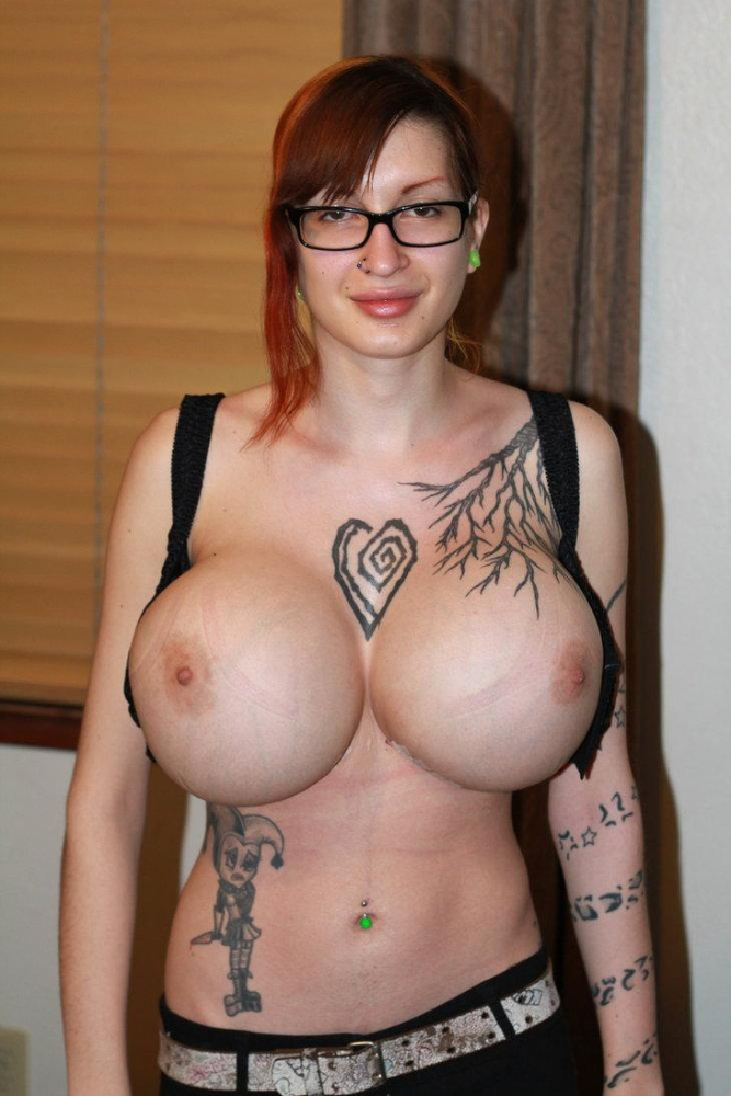 Big tits and tattoos