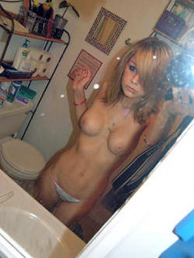 Hot oily naked teen
