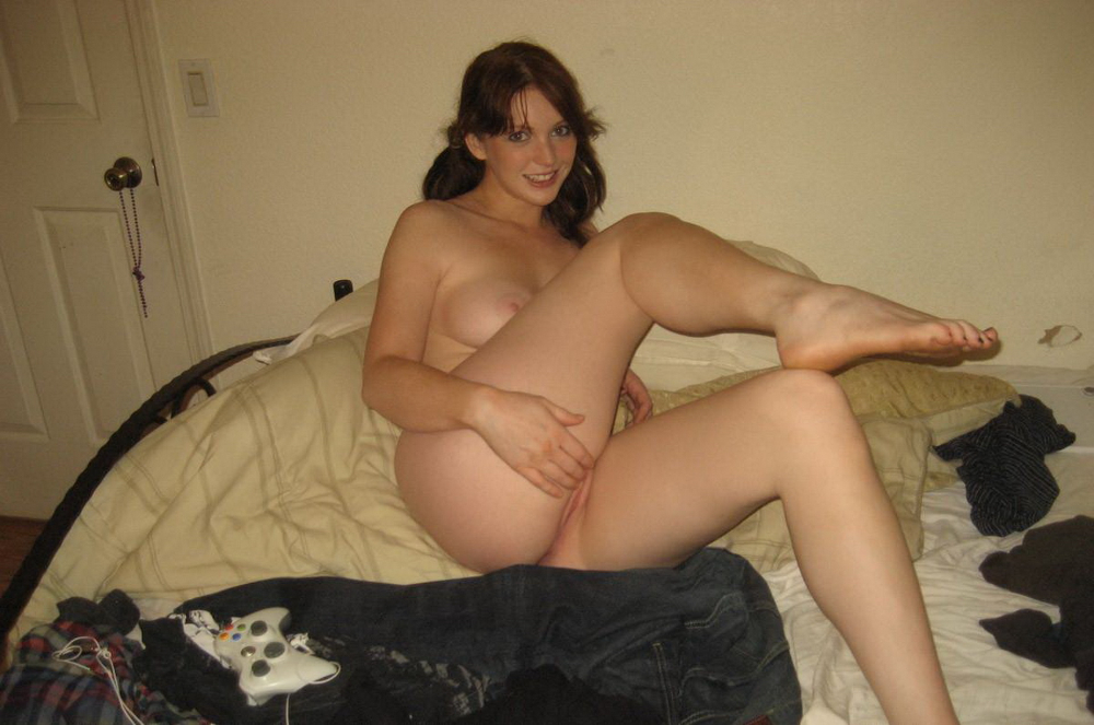 Sexy Nude Gamer Girl 16