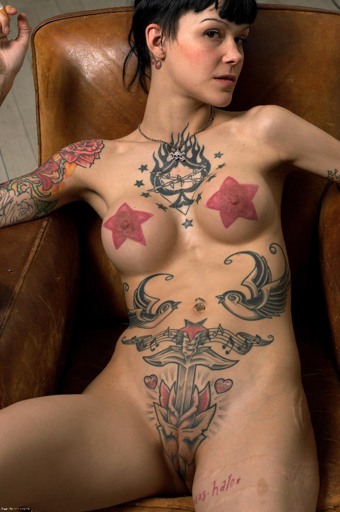 Tattooed slut