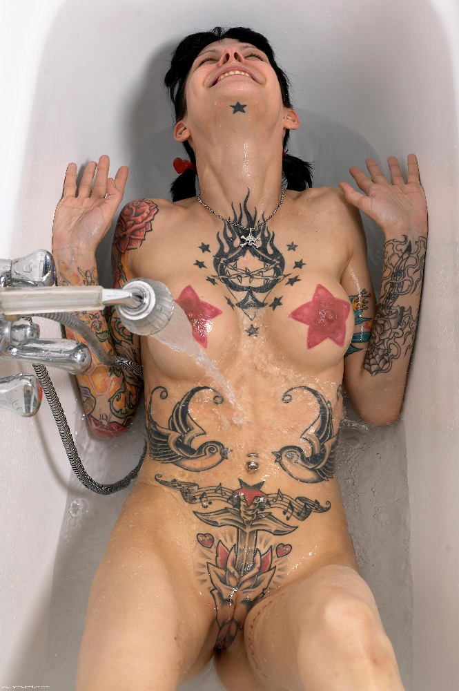 Sexy tattoo naked women