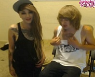 Emo Couple Webcam Sex